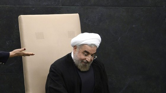 Hassan Rohani, presidente do Irão