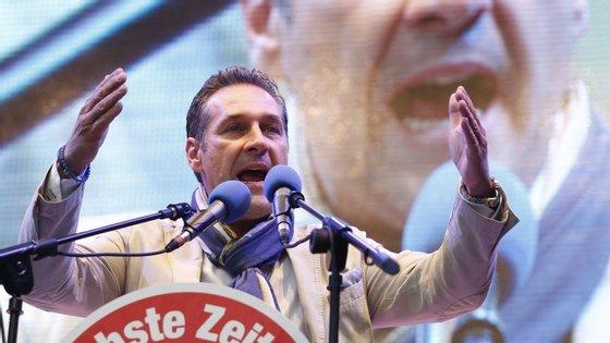 Heinz-Christian Strache é líder do Partido da Liberdade desde 2005.