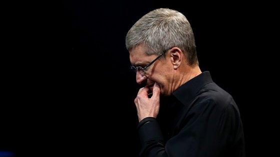 A Apple é liderada por Tim Cook. Há duas semanas, o CEO apresentou o novo iPad Pro e dois novos iPhone