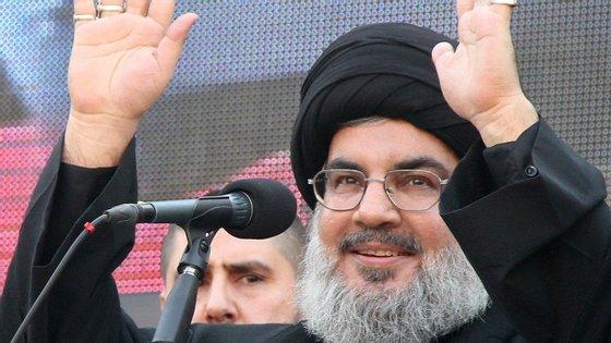 Hassan Nasrallah, líder do Hezbollah, anunciou uma trégua de seis meses na Síria