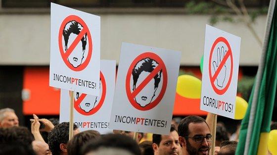 A taxa de desemprego crescente no Brasil tem originado protestos nos últimos meses