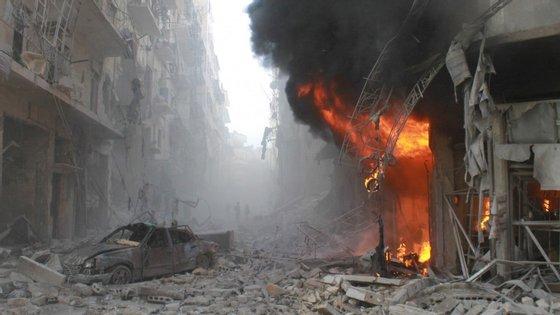 Os conflitos na Síria já provocaram, desde 2011, cerca de 240 mil mortes