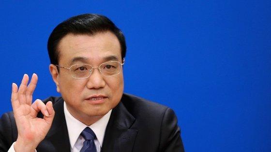 O primeiro-ministro Li Keqiang falou com Lagarde na quinta-feira