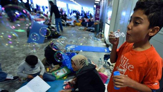 A Suécia concordou receber 821 refugiados que chegaram a Itália