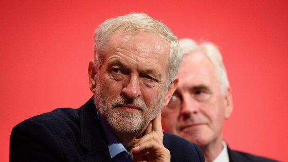 A liderança de Jeremy Corbyn é considerada uma das mais esquerdistas de sempre do Labour