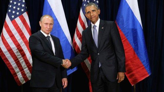 Putin e Obama reuniram oficialmente pela primeira vez em dois anos