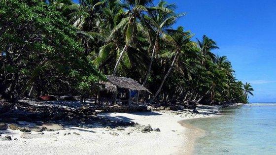 """A ilha de Suwarrow, que fica na Nova Zelândia, foi a """"casa"""" de Tom Neale durante 16 anos"""