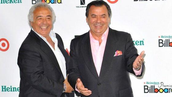 """Los Del  Río, o duo espanhol autor do êxito """"Macarena"""""""