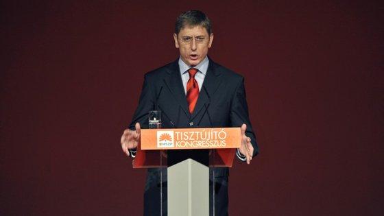 Ferenc Gyurcsany é o principal rosto da oposição ao Governo de Viktor Orbán