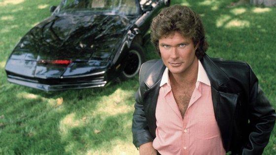 """O justiceiro David Hasselhoff tinha o segundo melhor carro da televisão (a seguir ao 2CV de """"Duarte e Companhia"""")"""
