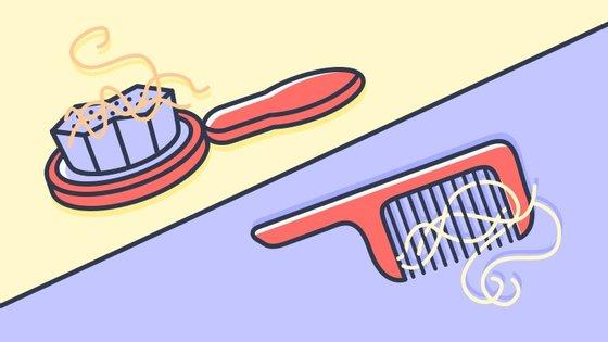 Cabelos a mais na escova no outono? Não há razões para alarme. É só queda sazonal, não vai ficar careca.