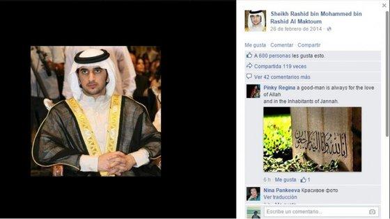 Rashid era o filho mais velho do xeque Mohammed bin Rashid Al Maktoum, governante do Dubai.