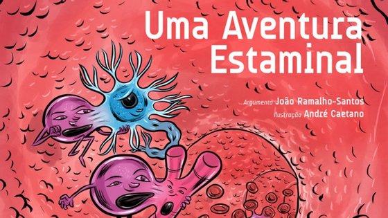 O livro que explica o que são células estaminais em banda desenhada