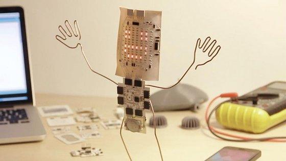 A Printoo consegue dar vida a objetos do quotidiano. É um dos projetos a marcar presença nesta edição