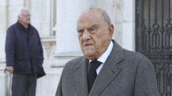António Ricciardi tem 95 anos e é pai de José Maria Ricciardi