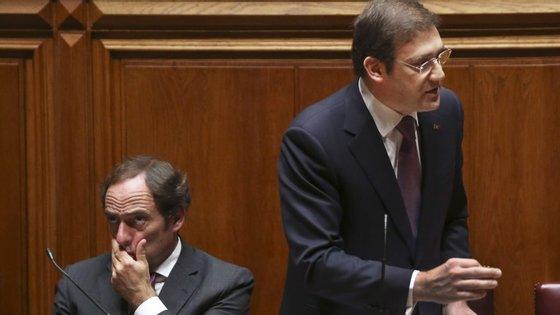 Portas e Passos dependem de António Costa para fazer aprovar o programa de Governo
