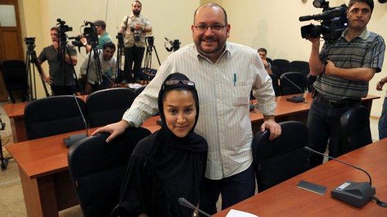 Jason Rezaian, correspondente do Washington Post em Teerão, está preso desde 22 de julho de 2014