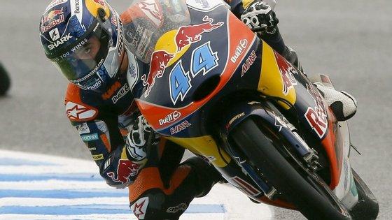 O piloto de Almada é o único português que já conseguiu subir ao pódio no Campeonato do Mundo de motociclismo de velocidade