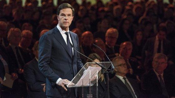 Mark Rutte, primeiro-ministro da Holanda, condenou o ataque