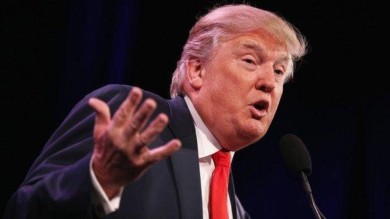 Donald Trump reiterou que os Estados Unidos da América não devem acolher refugiados