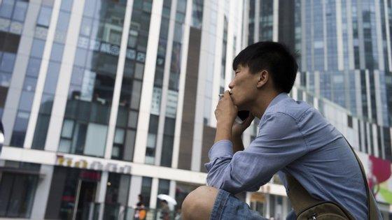 Um em cada três homens chineses com menos de 20 anos corre risco de morrer de forma prematura