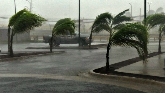 """A Sierra Madre Occidental serviu de """"escudo"""" contra o furacão Patrícia e transformou-o numa tempestade tropical."""