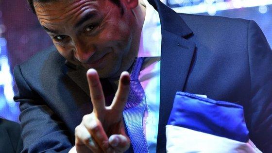 O comediante ganhou notoriedade política depois dos escândalos de corrupção que levaram à demissão do general Otto Pérez Molina.