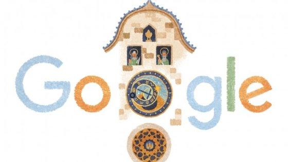 O Google Doodle que celebra os 605 anos do Orloj