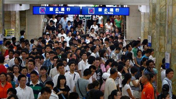 A China é o país mais populoso do mundo, com quase 1,4 mil milhões de habitantes