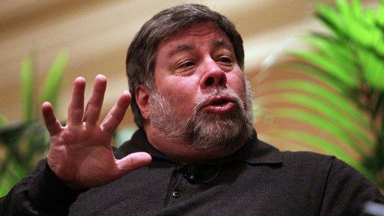 Wozniak cofundou a Apple com Steve Jobs