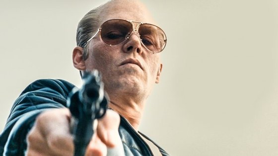 """Em """"Black Mass"""", Johnny Depp é um  gangster da Boston dos anos 70 e 80"""