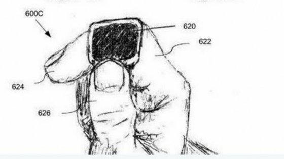 O anel permitiria enviar SMS e telefonar para outros dispositivos móveis, por exemplo