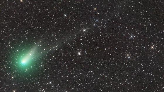 O cometa Catalina visto a 11 de agosto de 2015 por Ian Sharp a partir da Austrália