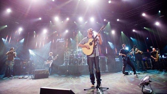 A Dave Matthews Band atua no próximo domingo em Lisboa