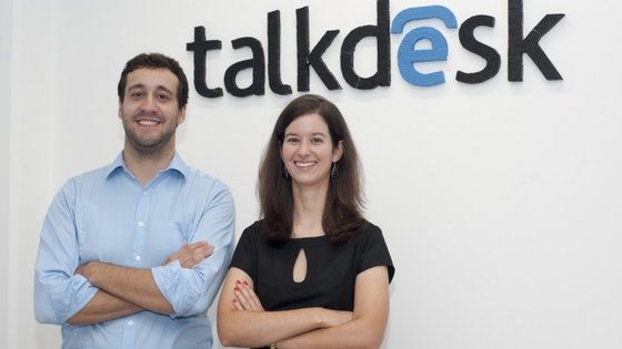 Tiago Paiva e Cristina Fonseca são os fundadores da Talkdesk