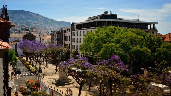 Saindo da Sé, no centro do Funchal, basta descer até à costa para seguir até à zona oeste da cidade
