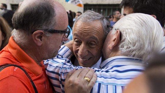 Se as eleições presidenciais fossem hoje, Marcelo Rebelo de Sousa venceria a primeira volta com 49,3% dos votos