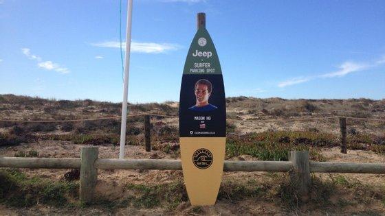 Mason Ho foi um dos surfistas que recebeu um wildcard (convite) da organização para participar no Moche Rip Curl Pro. Tem 26 anos e vai defrontar os brasileiros Gabriel Medina e Miguel Pupo na primeira ronda