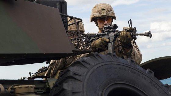Serão cerca de 20 mil os militares que chegarão a Espanha para a fase real do Trident Juncture 2015