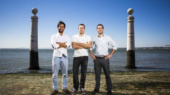 Miguel Santo Amaro, Mariano Kostelec e Ben Grech fundaram a Uniplaces em 2012