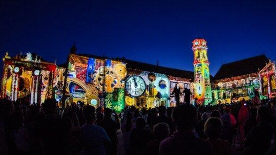 """O espetáculo de video mapping """"Light Paintings - Cultural Heritage"""" faz parte do programa da Feira do Património"""