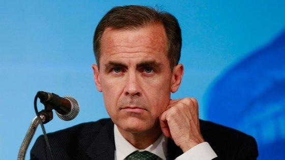 Mark Carney é governador do Banco de Inglaterra e preside aos trabalhos do Financial Stability Board.