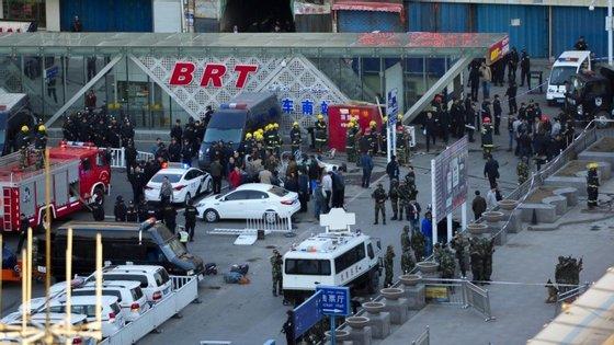 O Xinjiang é frequentemente palco de conflitos entre a minoria étnica chinesa Uigur, muçulmana, e a maioria Han