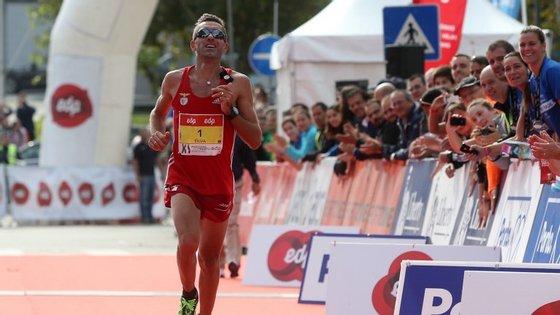 Como está a recuperar de uma lesão, Rui Pedro Silva optou pela prova dos 15 quilómetros em vez dos 42