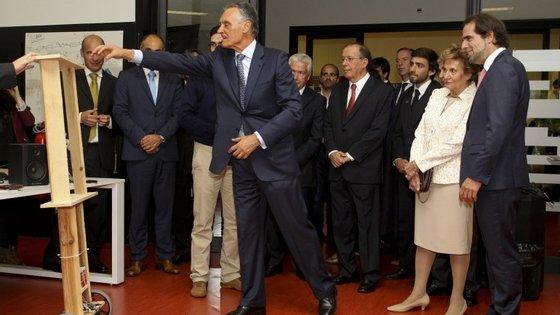 Cavaco Silva esteve na Madeira, em visita oficial