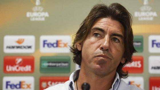 Ricardo Sá Pinto alertou para a dificuldade do encontro da Liga Europa