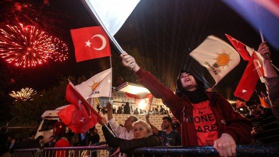 Entre 2003 e 2014, o AKP governou com maioria absoluta
