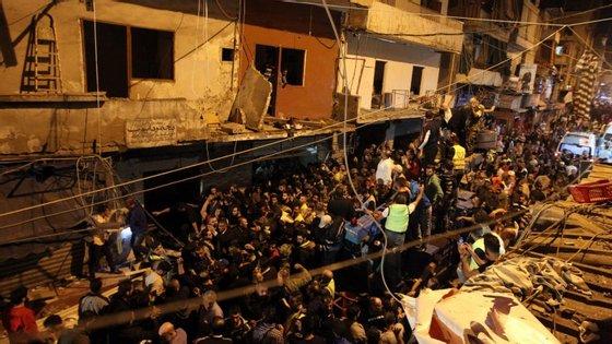 As explosões aconteceram em Borj al-Barajneh, nos subúrbios de Beirute.