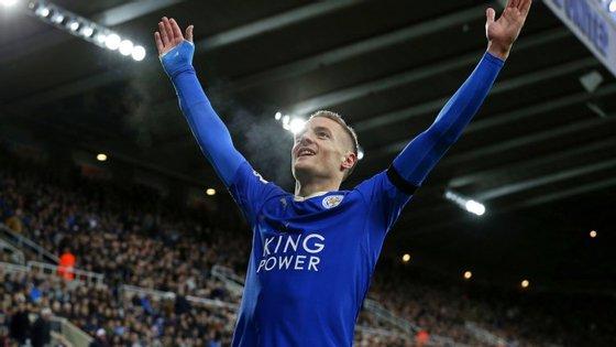"""Nem Lukaku, nem """"Kun"""" Aguero nem Harry Kane: o melhor marcador da Premier League joga no Leicester, que lidera a Premier League"""