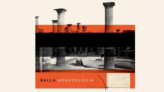 """Capa do álbum/livro """"Arqueologia"""" dos Balla (Armando Teixeira)"""